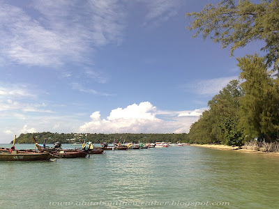 Phuket's Weather 1st October 2012