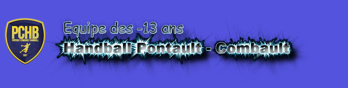 Equipes des moins de 13 ans Handball Pontault Combault