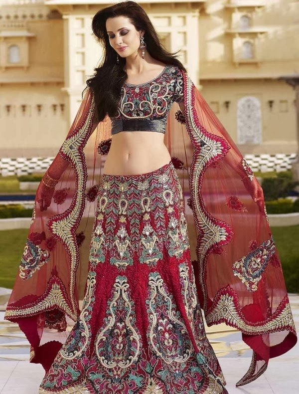 Indian Wedding Dresses 2014 Especially Design For Girls And Womens