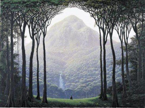Tomás Sánchez 1948 ~ Cuban Landscape painter