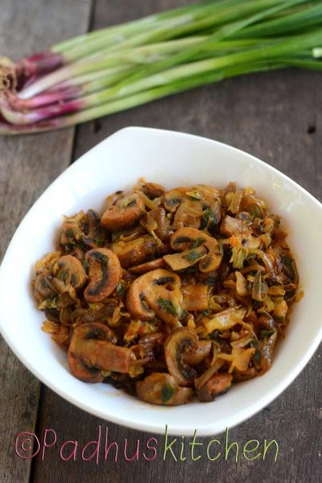 mushroom cabbage curry