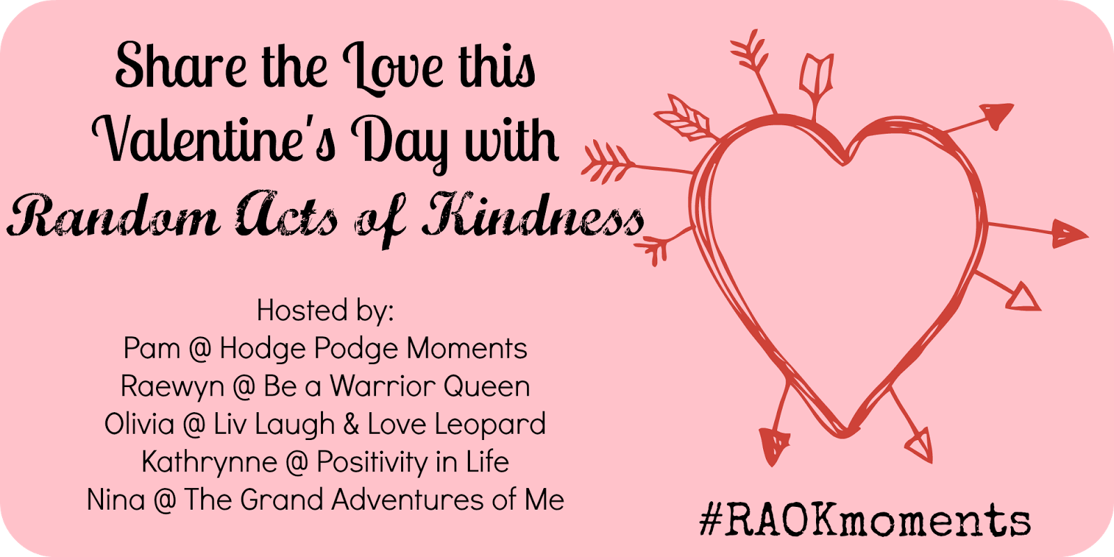 Share the Love with #RAOKmoments