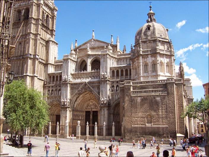 La Catedral de Toledo, España