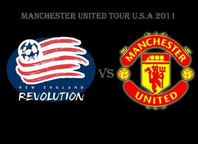 New England Revolution vs Manchester United Tour USA 2011