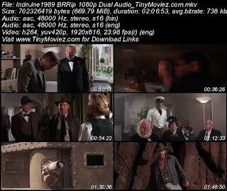 Indiana Jones And The Last Crusade 1989 BRRip 1080p Dual Audio