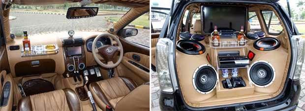 Modifikasi Interior Daihatsu Xenia