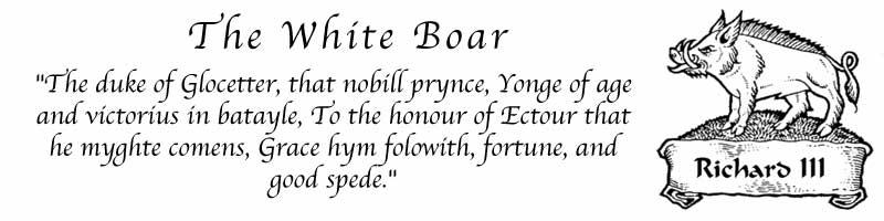 The White Boar