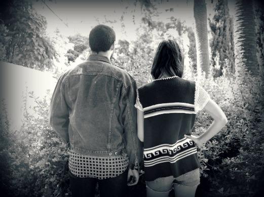 pareja vintage