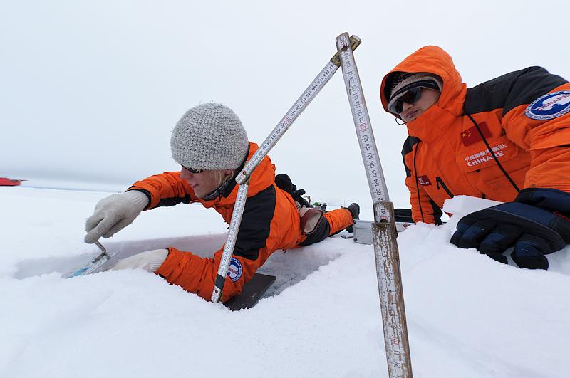 white world images, polar science, Arctic Ocean, Arctic, Arktika, Põhja-Jäämeri, polaarteadus, Chinare, scientists, teadlased