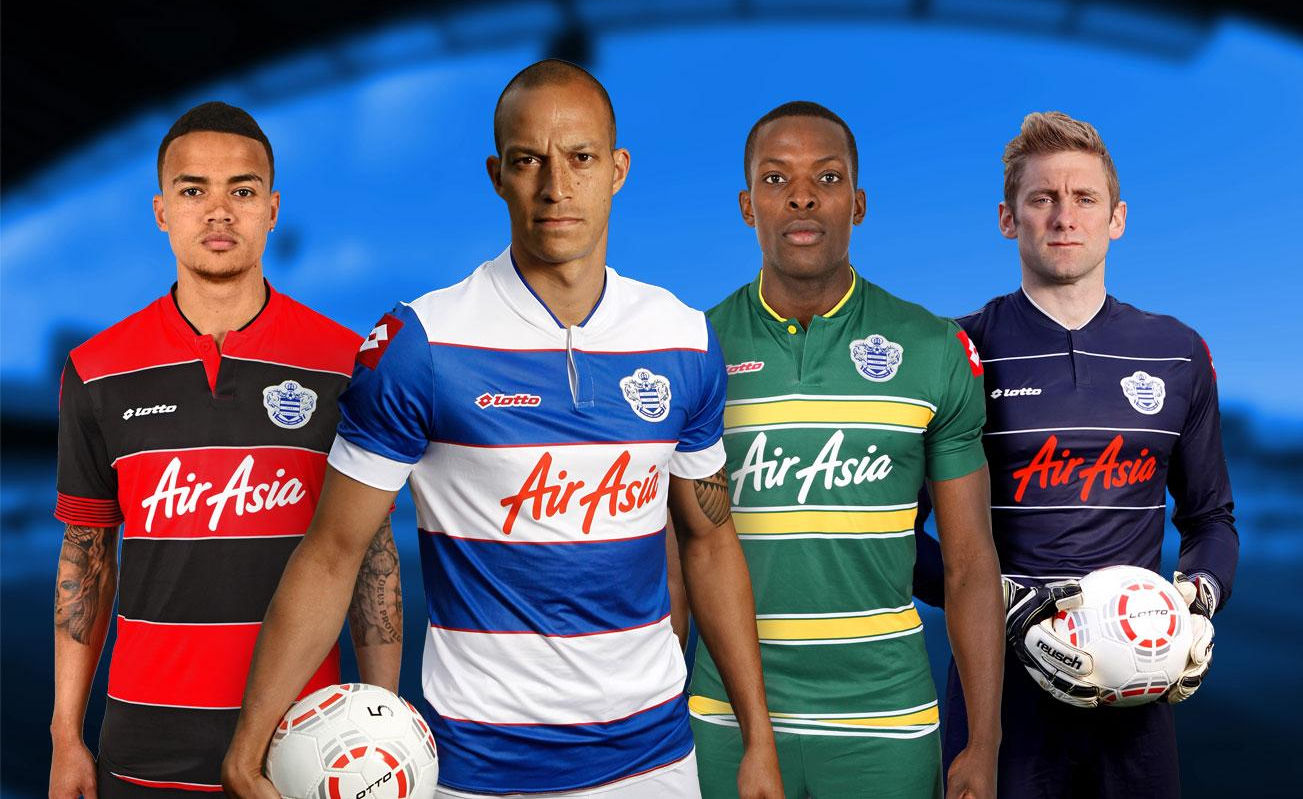 Qpr 13 14 home away and third kits unveiled english premier league
