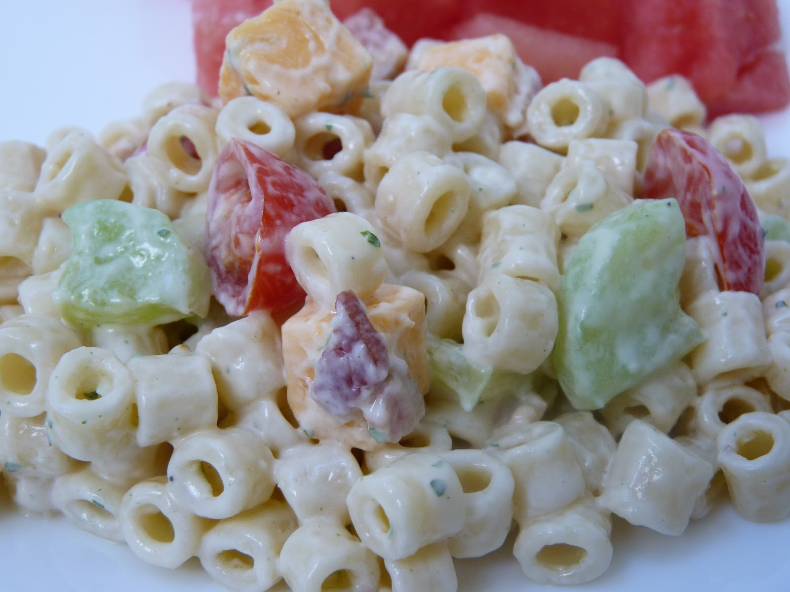 fantastic family favorites creamy bacon ranch pasta salad