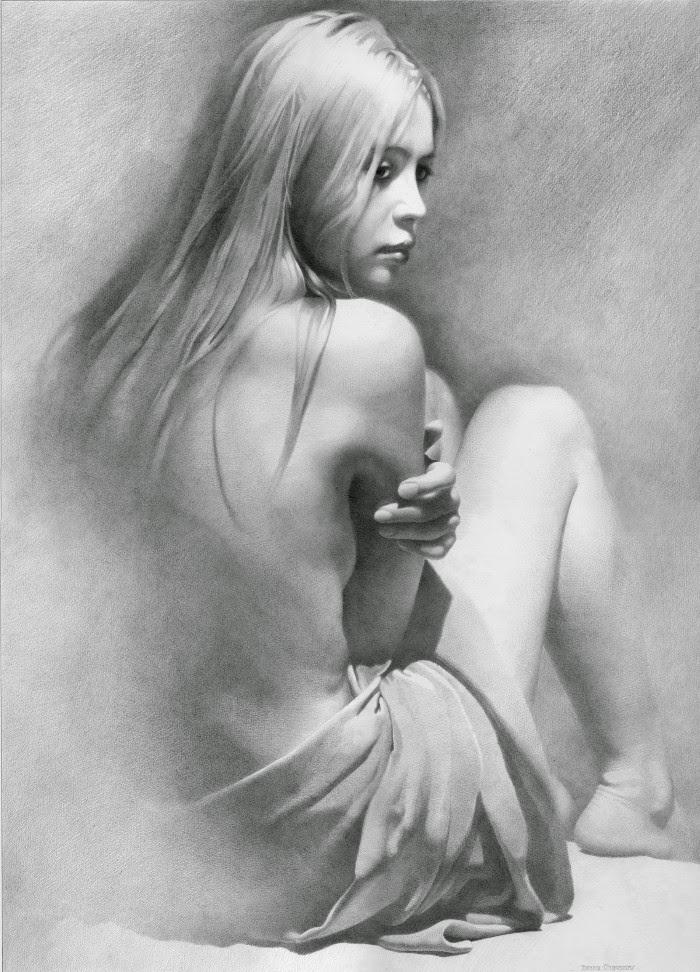 Эротический рисунок карандашом 2 фотография