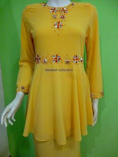 baju kurung peplum kod: R255-627