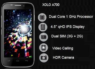 Lava Xolo A700 Price image