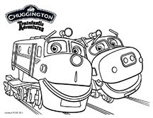 Join chuggington at kidtoons in october macaroni kid for Chuggington coloring pages