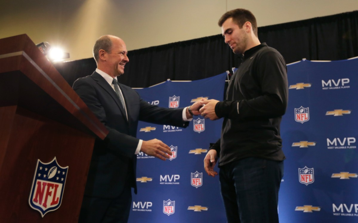 Joe Flacco Named Super Bowl MVP and Wins a 2014 Corvette Stingray