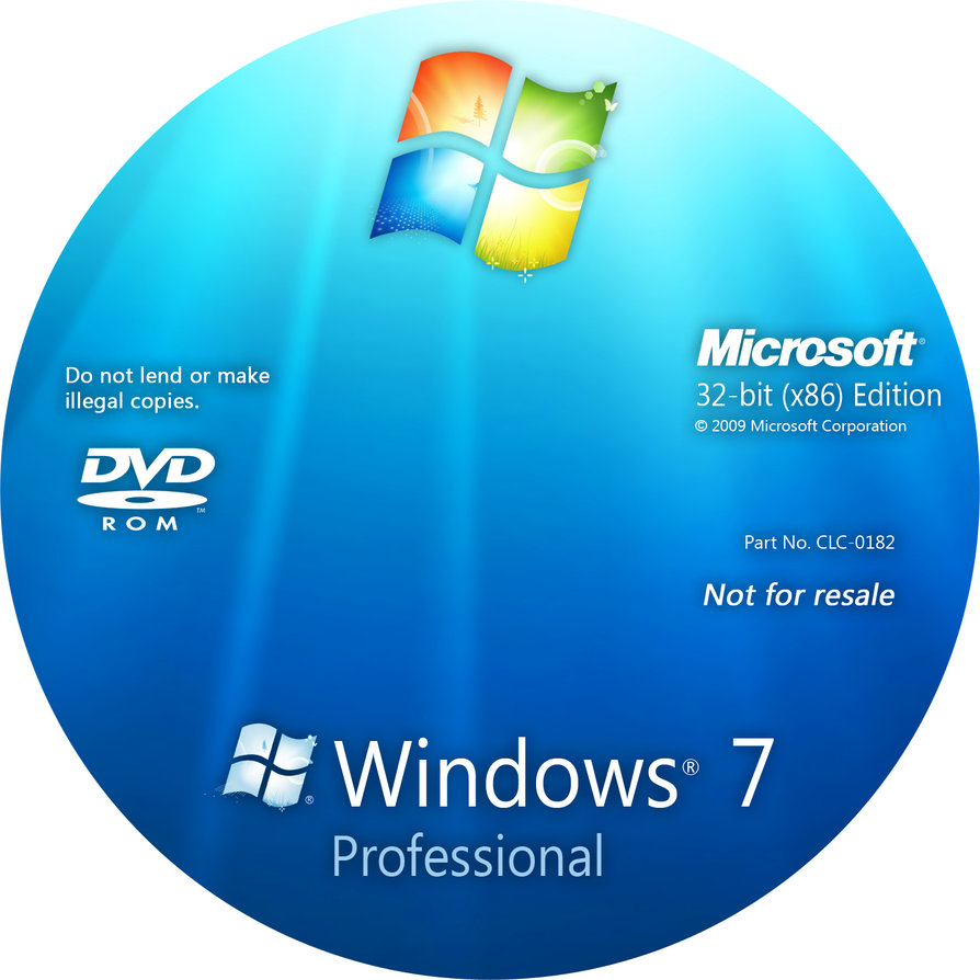 Windows 7 professional x86 for Window 7 professional