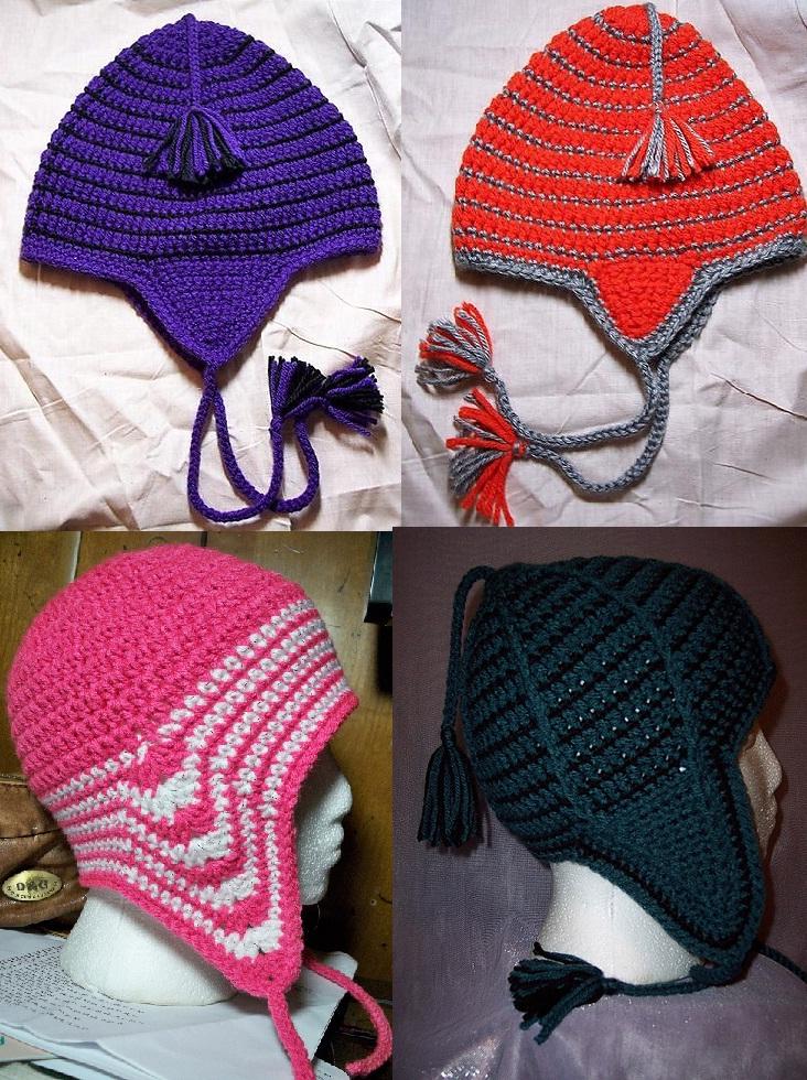 Jr Crochet Designs Ear Flap Hat Pattern Collection Save 200 Plus