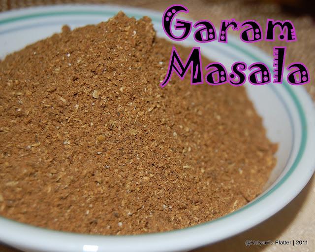 Garam Masala Powder | Kalyani's Platter