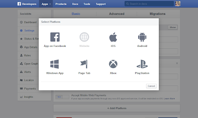 Facebook New Developers Website: Platform Selction