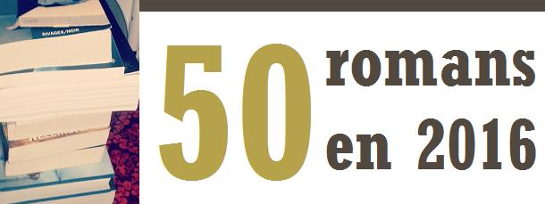Challenge 50 romans en 2016