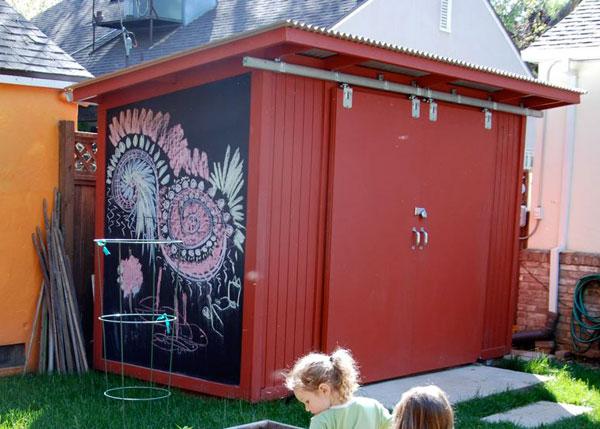 Outdoor Ideas Chalkboards Barn Doors Chalk Board