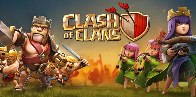 game android terlaris 2015, Clash of Clans game terlaris 2015