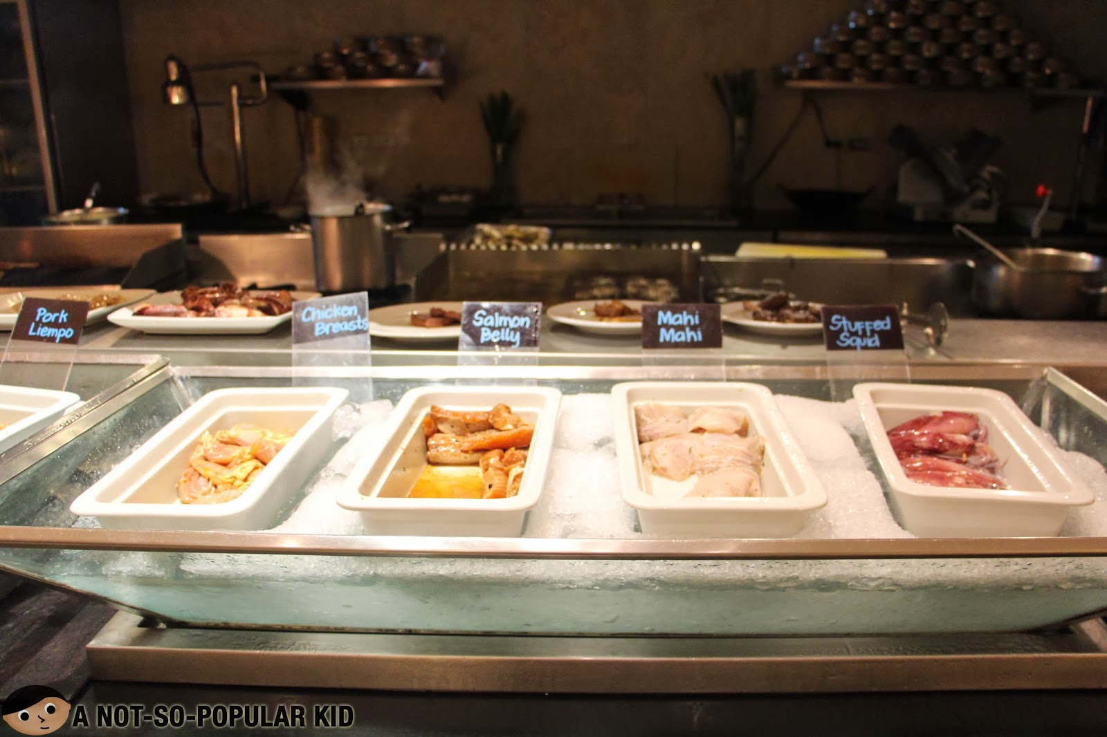 Basix (Dusit Thani) Grilling Station - Meat, Fish and More