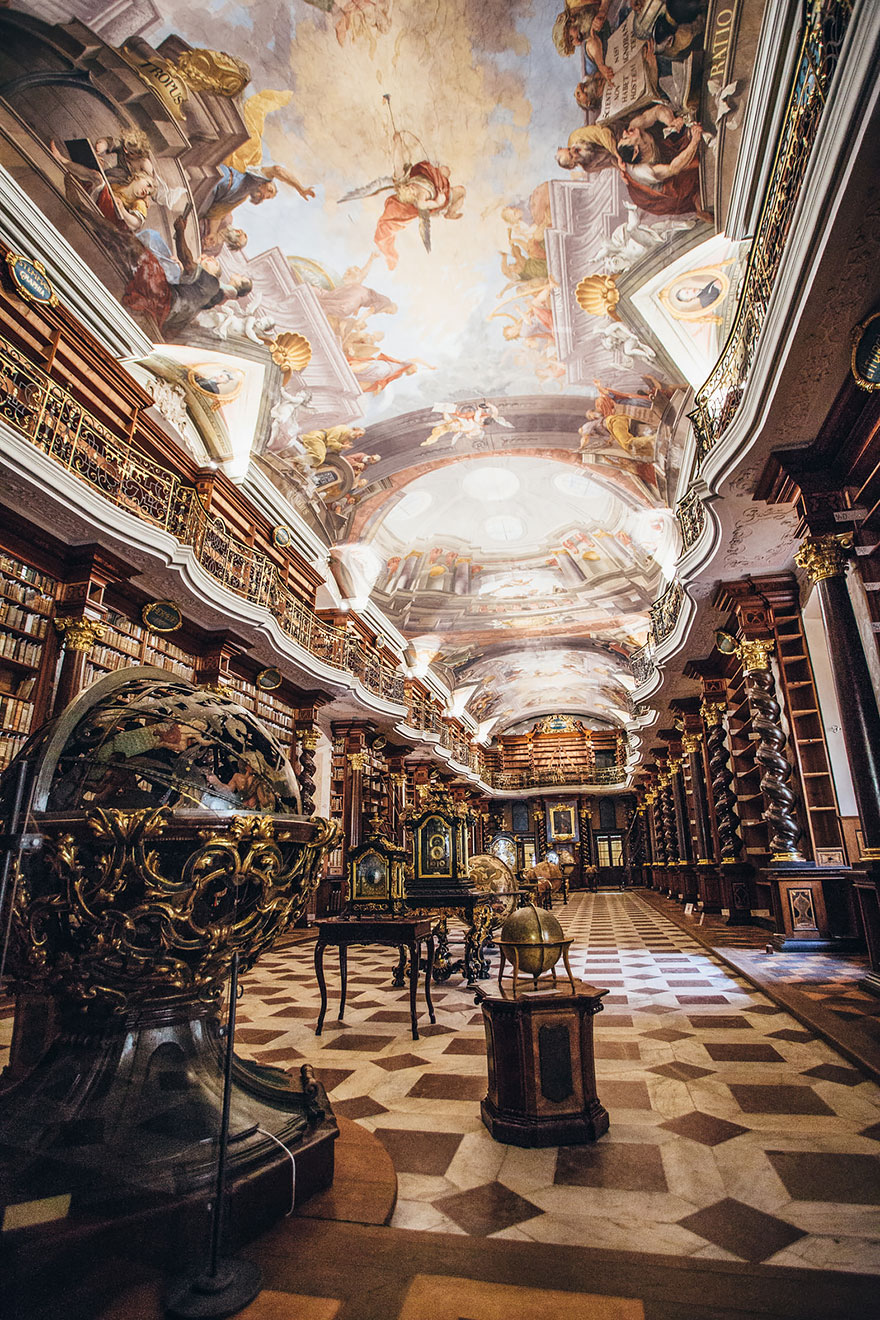 The World's Most Beautiful Library Is In Prague, Czech Republic