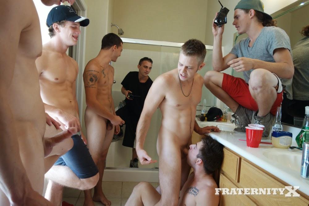 Shower naked college men