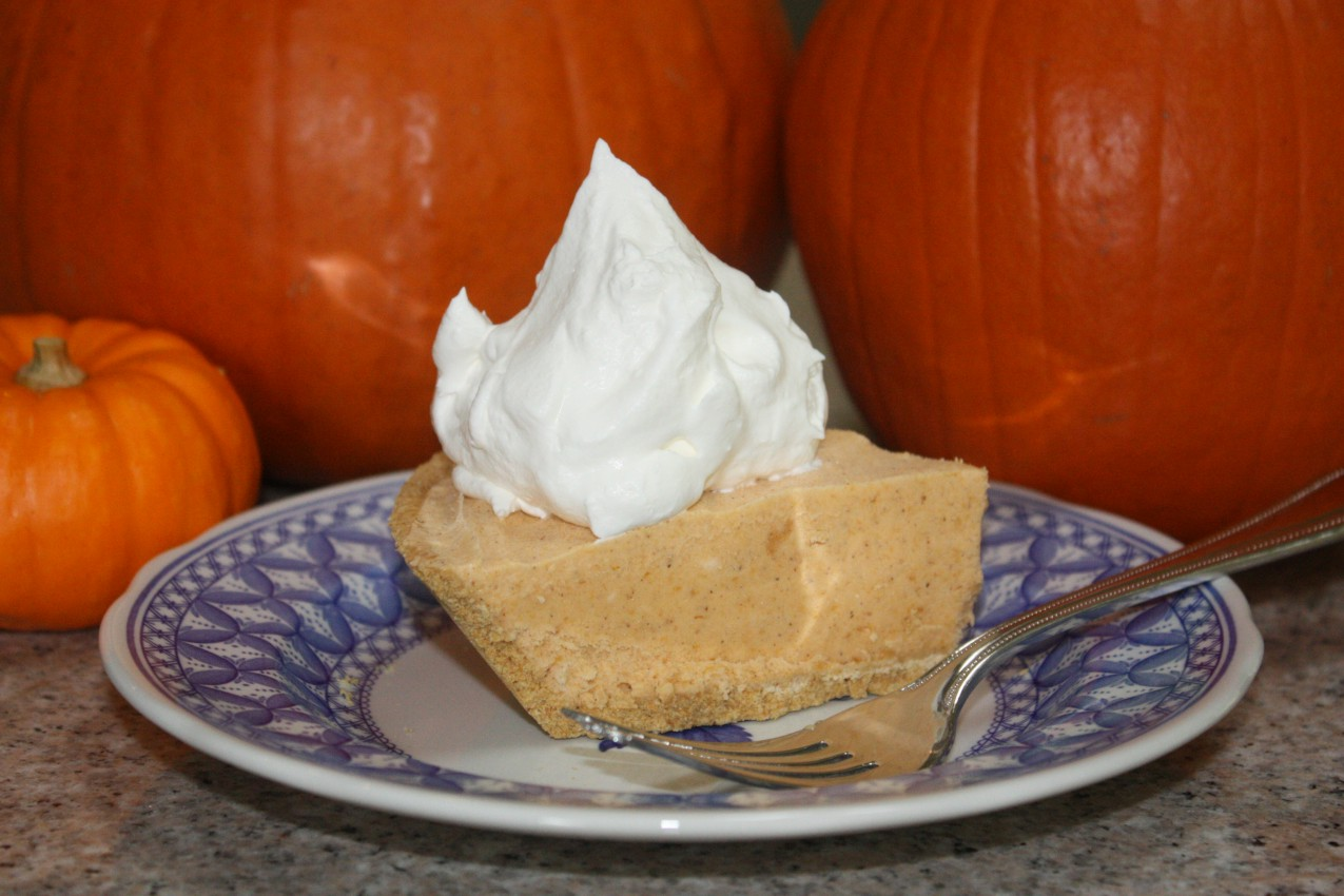 pass the peas, please: pumpkin ice cream pie