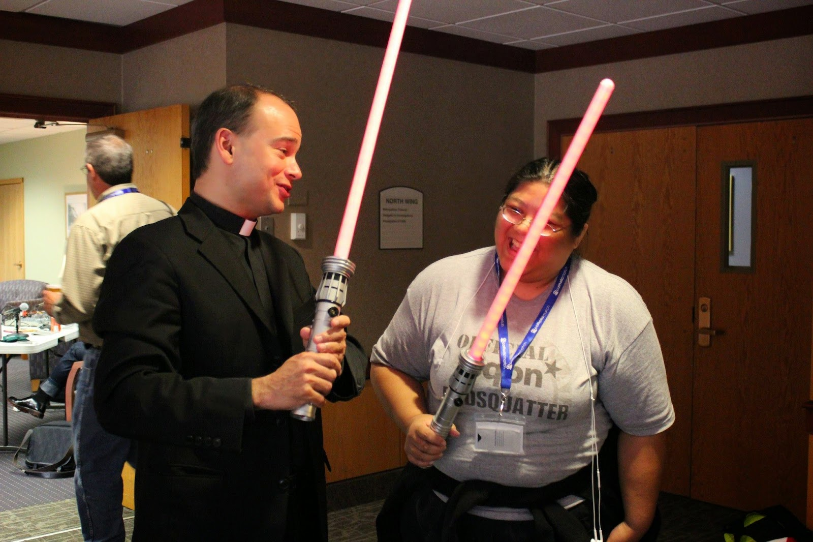 Fr Roderick And Me At The Cnmc In Boston, October 2010 Photo By Fr  Darryl Millette