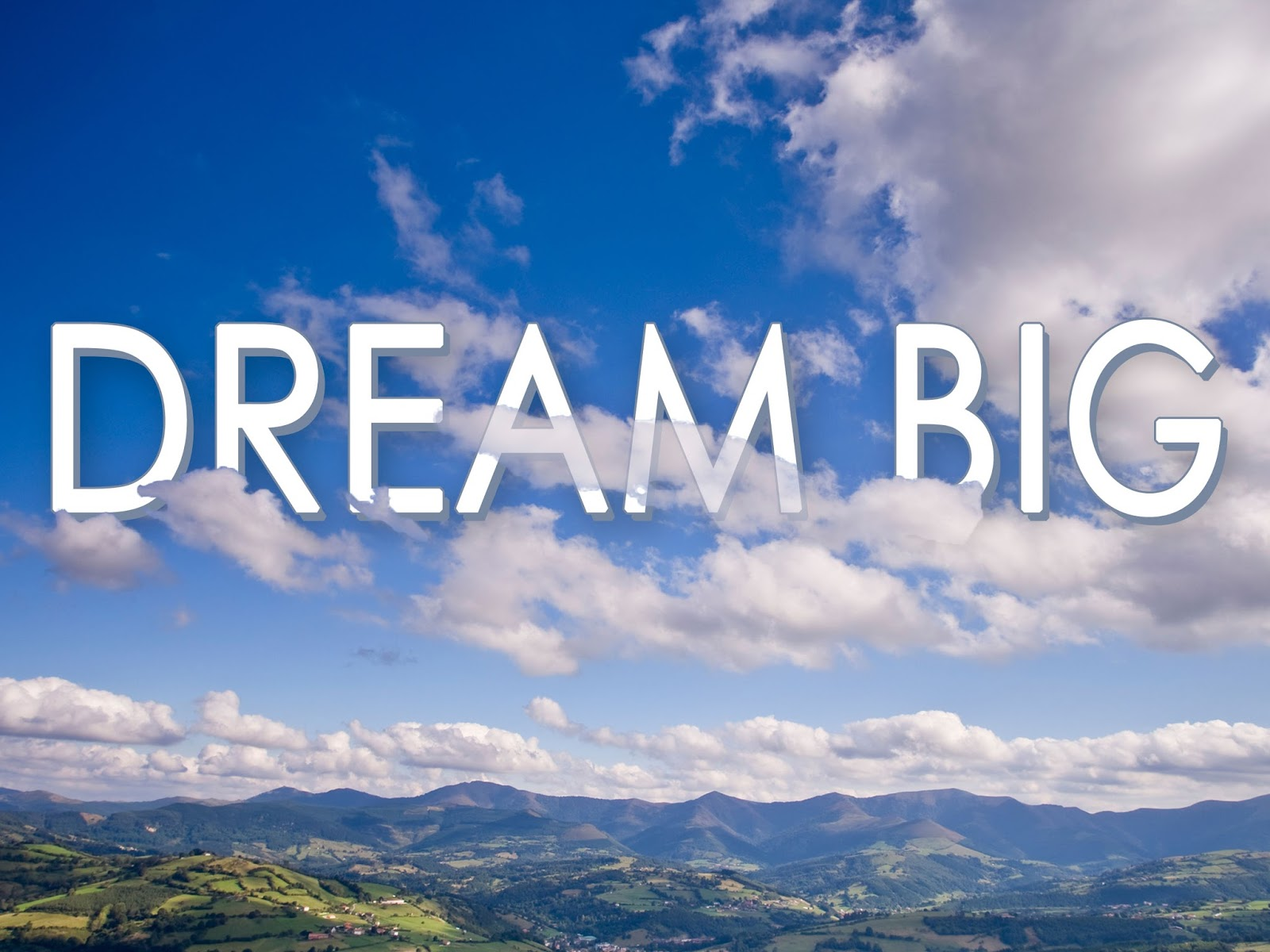 dream big Dream big type is hand painted typeface designed to help you create the look of stunning custom hand-lettering dream big type comes with.