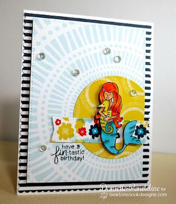 Mermaid Crossing | Newtons Nook Designs | Created by Danielle Pandeilne
