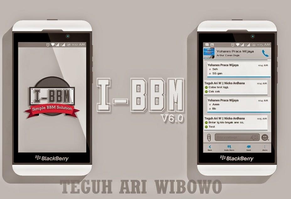 Download I-BBM V6 Dual BBM Versi 2.6.0.30 Apk