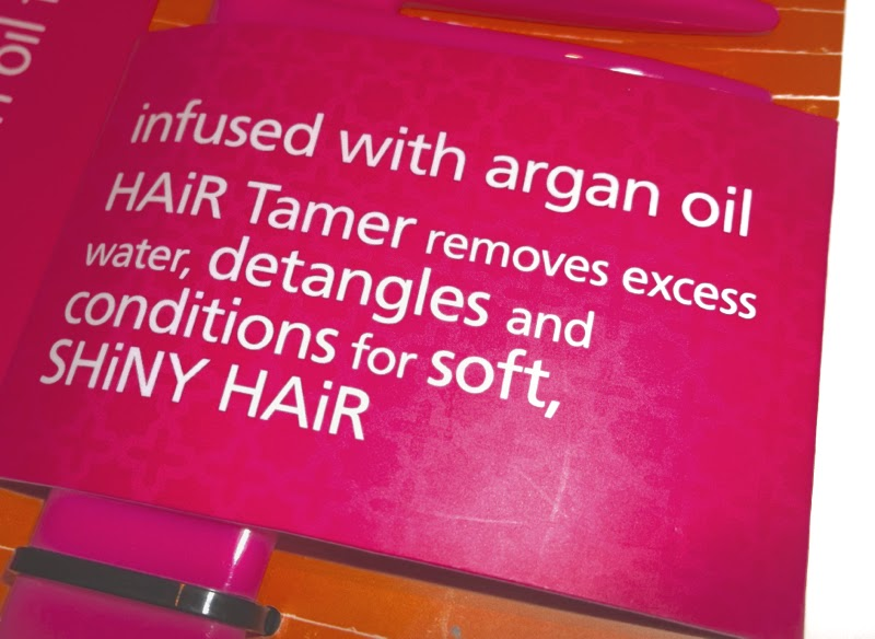 Lee Stafford, detangling comb, argan oil, hair repair, damaged hair