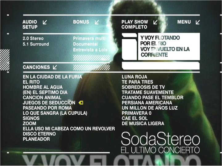 temas de soda stereo: