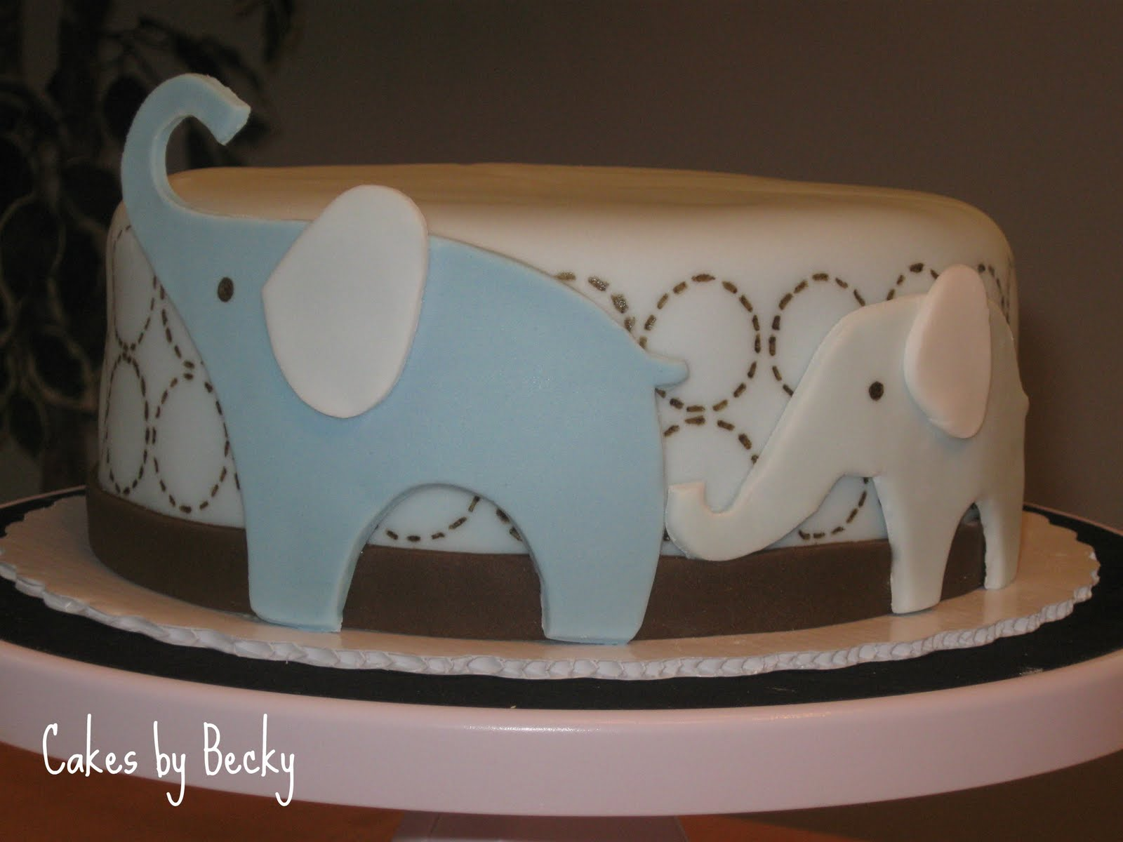 Baby Shower Cakes: Baby Shower Cakes With Elephants