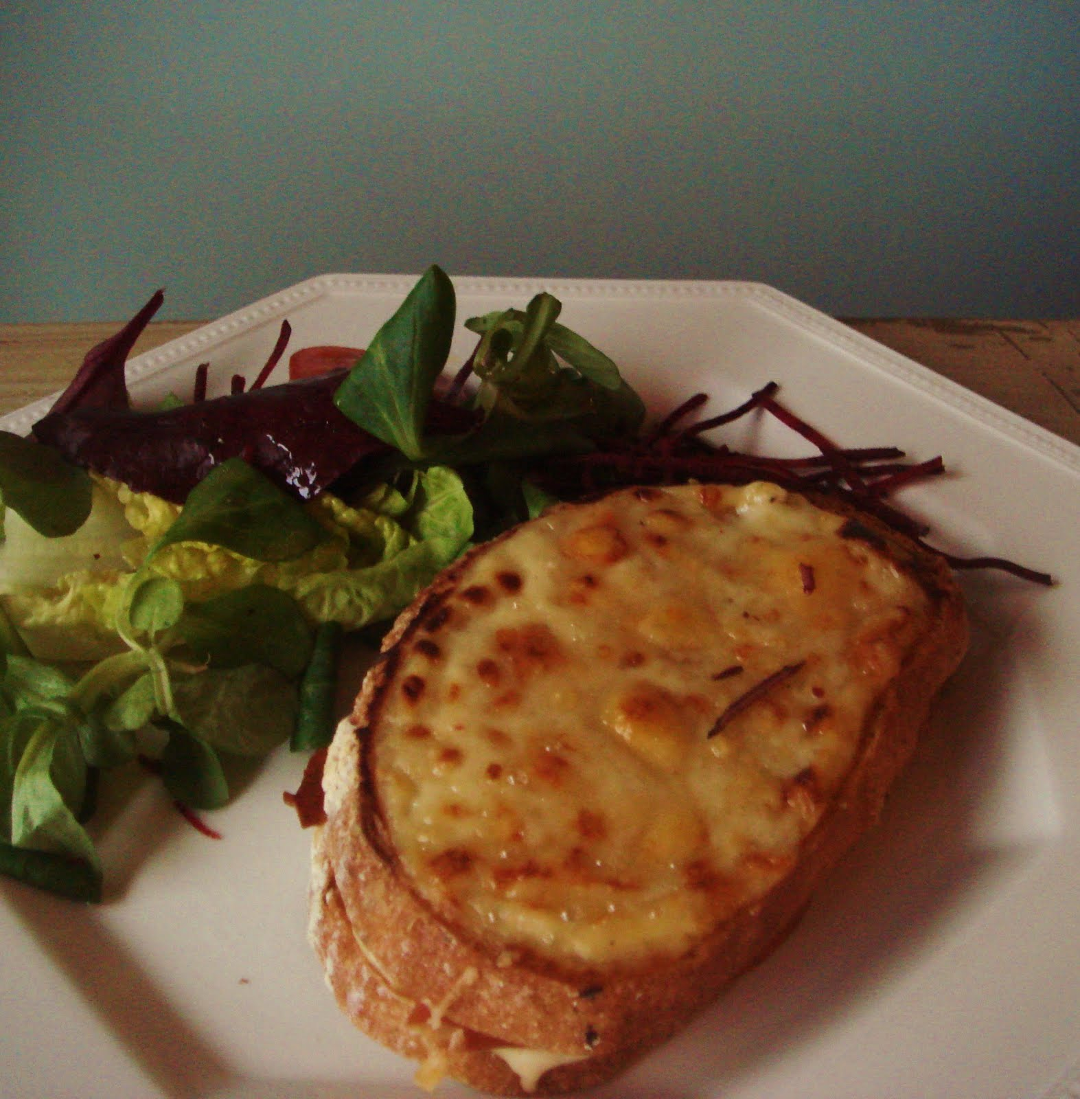 Stylishly Sated: French classic...Croque Monsieur