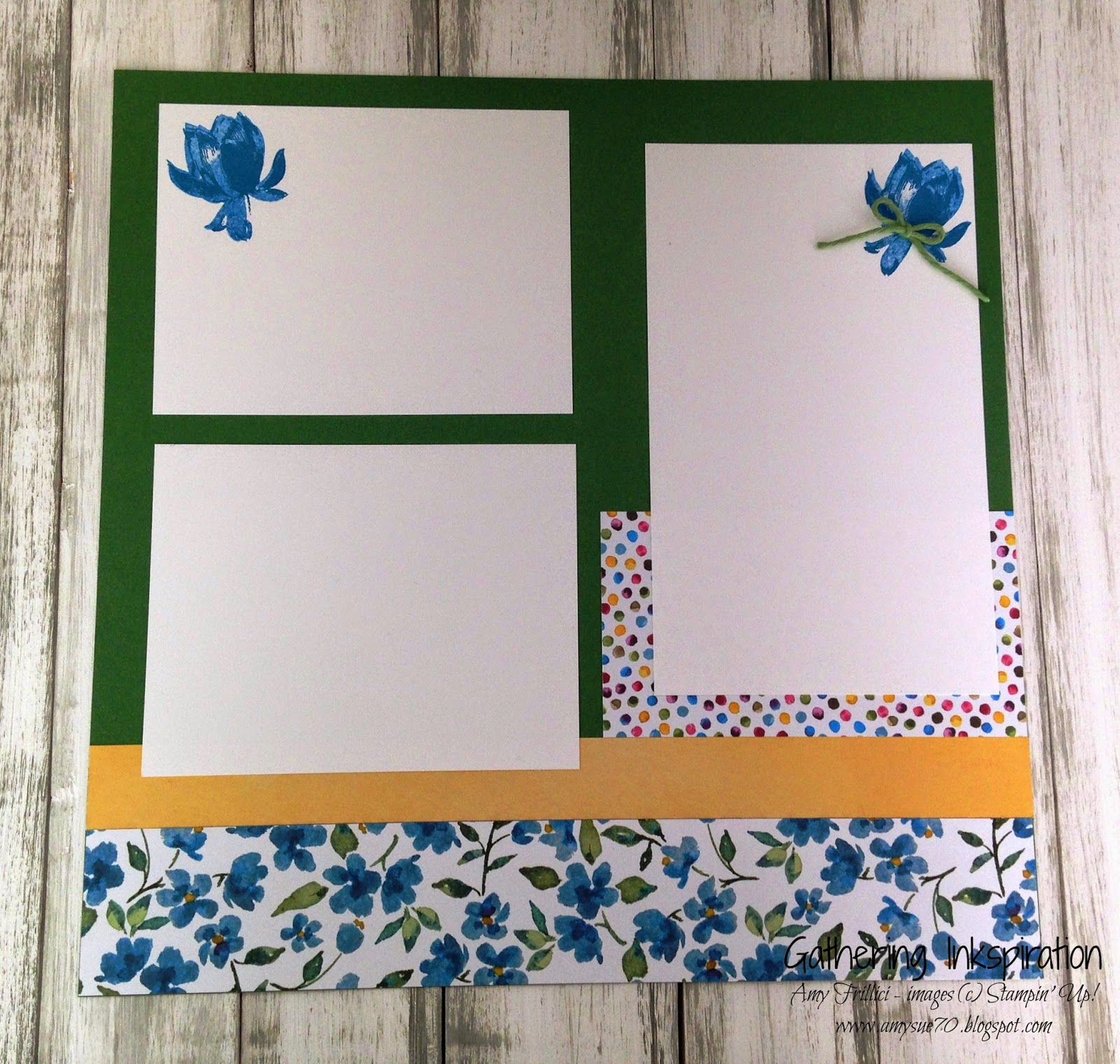 How to scrapbook yahoo - I Love These Flowers