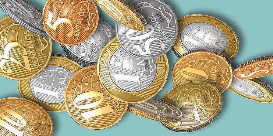 Saiba do que são feitas as moedas brasileiras