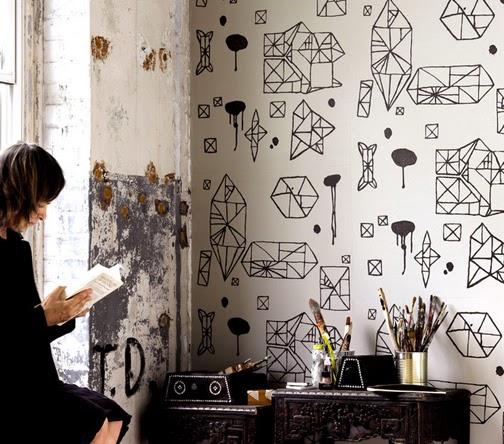 Lirolhaus   decoración de espacios en bogotá: papel tapiz para ...