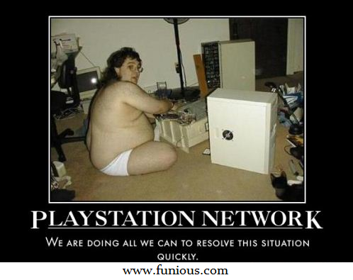 Playstation Network Hacked Funny Pictures