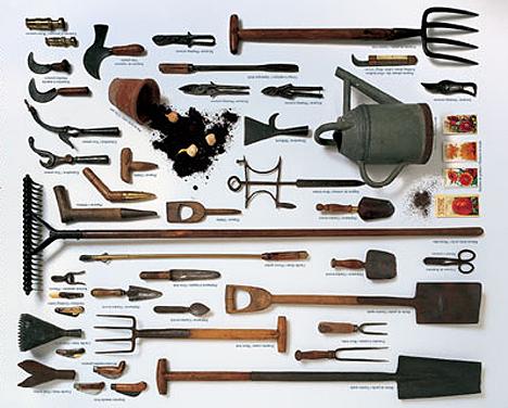 Liberty hyde bailey blog vegetable gardening tools for Vegetable garden tools