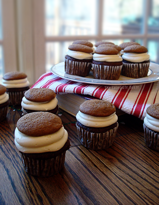 ... Baker: Gingerbread Cupcakes with Maple Cream Cheese Frosting