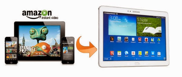 Enjoy Amazon WMV Movie on Samsung Galaxy Tab Pro 12.2