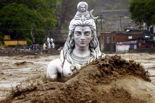 Mahadev in Floods