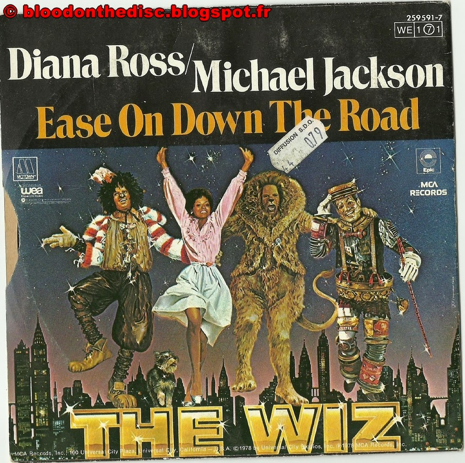 Ease On Down The Road Back Cover