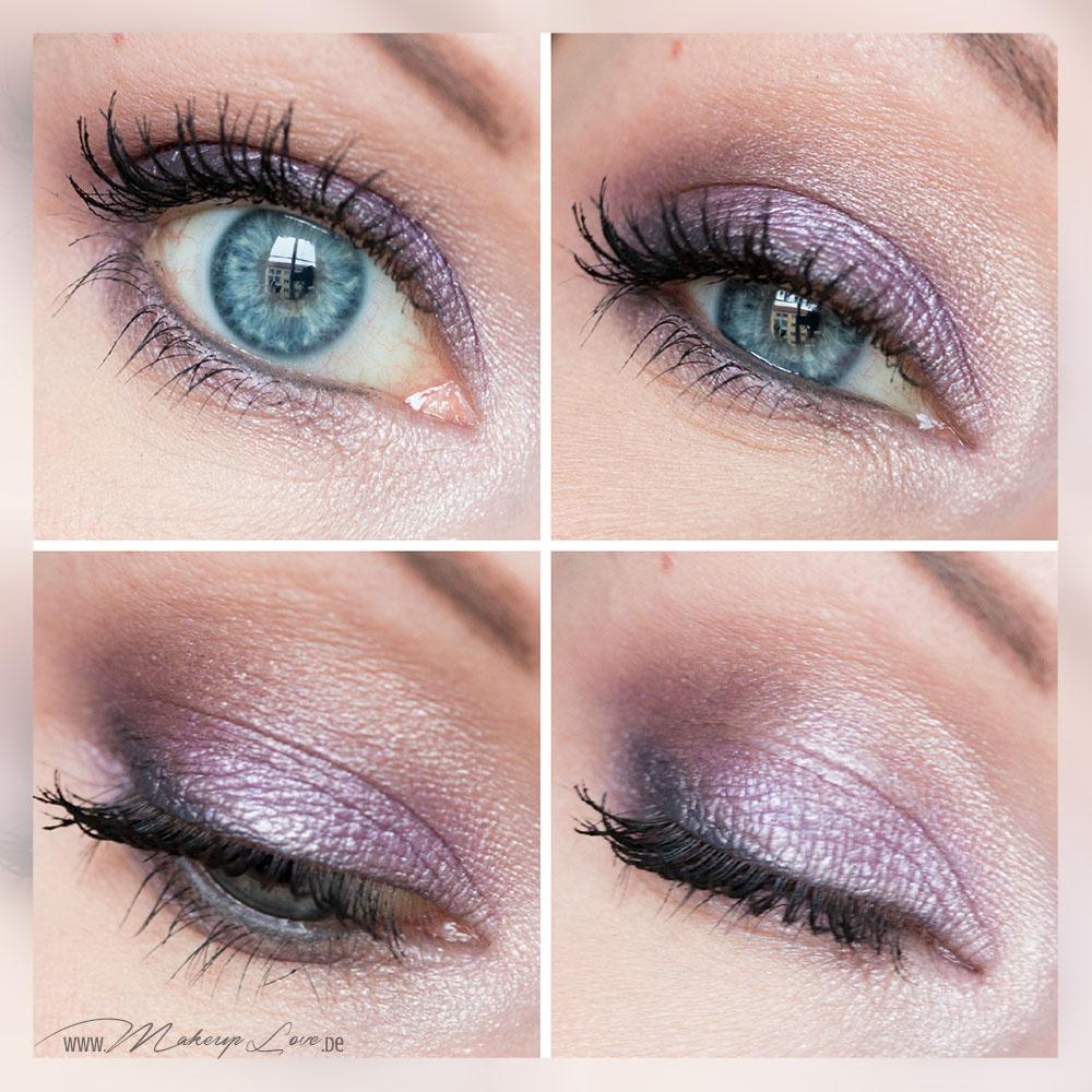 AMU Nachgeschminkt Lisa Eldridge Lavender Smokey Eye