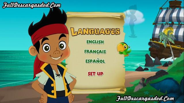 Jake Neverland Pirates Peter Pan Returns 2012 DVDR NTSC Español Latino